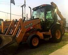 Case 580 N Origen Usa Año 2013 4x2 Con Cabina Y Aire