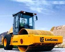 Compactador Vibratorio Liugong Clg614 De 14tn Financio 100%