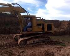 Excavadora Cat 225. Motor Detroit Diesel