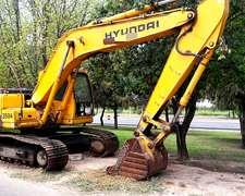 Excavadora Hyundai 210cl-7 2007