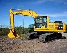 Excavadora Komatsu Pc 200 Lc-8