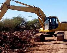 Excavadora Komatsu Pc 200-6 (id228)