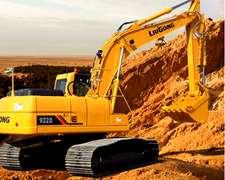 Excavadora Liugong Clg920 Cummins 21tn Financio 100%