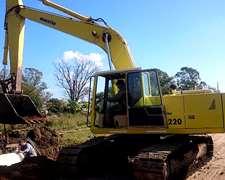 Excavadora Komatsu Pc 220 -