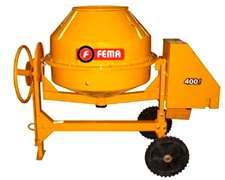 Hormigonera Fema 400 Lt Motor 3 Hp-380v. -