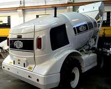 Hormigonero Con Mixer De Auto-cargado Fiori Db-x35 12 Cuotas