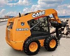 Minicargadora Case Sr175 (serie Alpha)