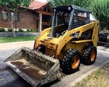 Minicargadora Caterpillar 246b 2004