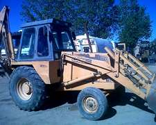 Retroexcavadora Case 580 Super H Año 98