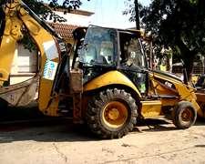 Retroexcavadora Caterpillar 416 ( Año 2007)- Muy Buen Estado