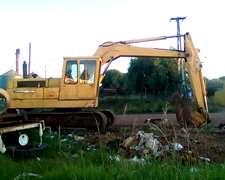 Retroexcavadora Jhon Deere Reparada