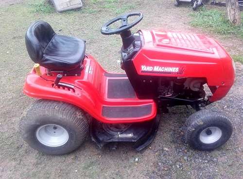 Tractor cortacesped mtd yard machines a o 2006 - Tractor cortacesped mtd ...