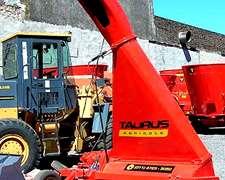 Cosechadora Picadora D Forrajes Implemento Tractor