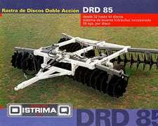 Rastra Doble Accion Drd-85. Distrimaq.