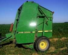 John Deere 535 1998 Con Monitor Y Repuestos Varios