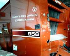 Massey Ferguson 956 Tecnología Hesston