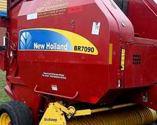 Rotoenfardadora New Holland Br7090 - Año 2012