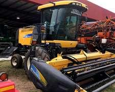 New Holland H8060 - Año 2012 - 4.9 Mts Corte - Con Merger