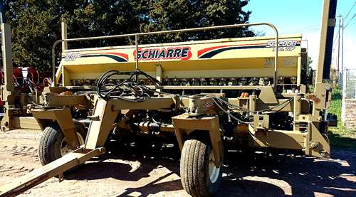 Sembradora Schiarre Sd 2000 - 27 A 17.5 - Alfalf - Monodisco