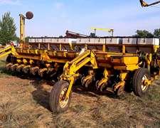 Sembradora Agrometal Tpv De 12 A 52cm Con Fertilizacion