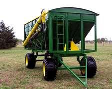 Acoplado Tolva Semillera Fertilizantes Agromaq 12 Tt. 15 Mts