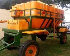 Tolva Fertilizadora Plastrong 9000 Lts 12 Tn