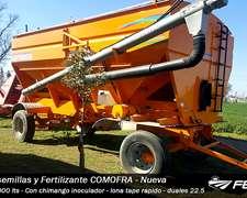 Tolva Para Semillas Y Fertilizantes Comofra - Nueva