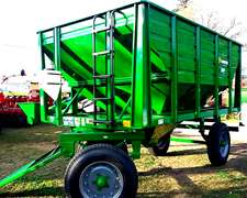 Tolva Semilla Y Fertilizante Montecor 9 Tn Con Chimango
