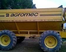 Tolva Usada Marca Agromec Modelo 18/20tt
