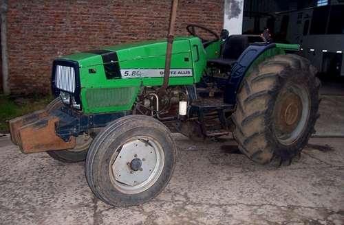 Deutz Fhar Ax 5.80 Año 1999, 3 Puntos Completo, 1era Mano