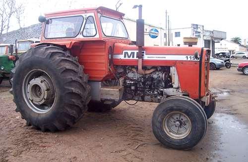 Massey Ferguson 1195 , Cabina, Doble Control Remoto, Tdf.