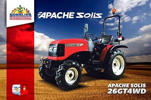 Nuevo Apache-solis Gt 26 4wd - Motor Diesel 26 Hp