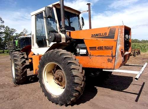 tractor zanello 480 con motor deutz 160 post enfriado agroads. Black Bedroom Furniture Sets. Home Design Ideas