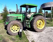 John Deere Tractor 6300 - Plataformado + Implecable