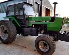 Tractor Deutz Fahr Ax 4.120 Zincron Restaurado Completo