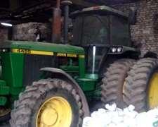 Tractor J D 4455 Impecable Doble Traccion