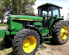 Tractor John Deeere 4960
