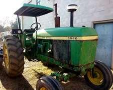 Tractor John Deere 3530 St Muy Bueno Con Techo