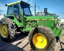 Tractor John Deere 3540 Doble Tracción.