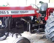 Tractor Massey 265s Con Tres Puntos
