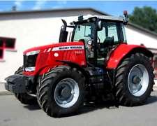 Tractor Massey Ferguson Mf 7624 - Embarcación