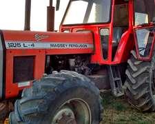 Tractor Mf 1215, Doble Tracción, Cabina Soid