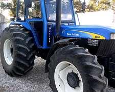 Tractor New Holland 8030 Doble Traccion Cabimetal Cub. 23.1x
