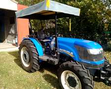 Tractor New Holland Modelo 2014 Td75 Turbodieses Doble Tracc