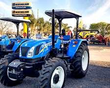 Tractor New Holland Tt 4,75 - 4x4 - Con Techo