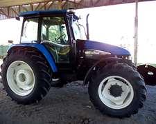 Tractor Nh Ts120- Doble Traccion Con Cabina Original Con A/a