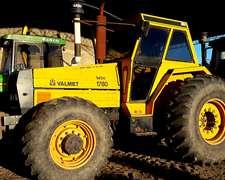 Tractor Valmet 1780 Doble Tracción Rodado 24.5x32