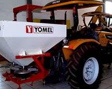 Tractor Valtra A 750f Con Fertilizadora Yomel Fp 1.18
