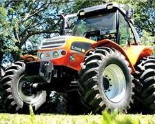 Tractor Zanello 2120 - 4120 Rígido Simple Y Doble Tracción