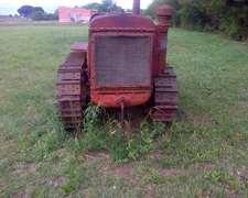 Vendo Tractor Con Orugas Antiguo Deering T 20
